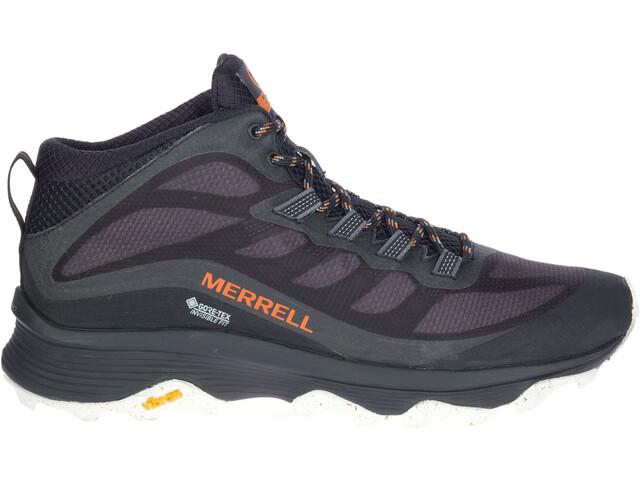 Merrell Moab Speed Mid GTX Shoes Men, black